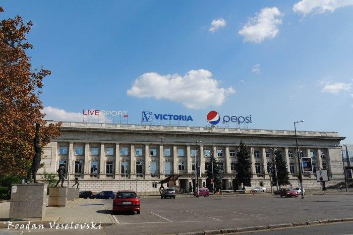 Vasil Levski National Stadium in Sofia Entrance