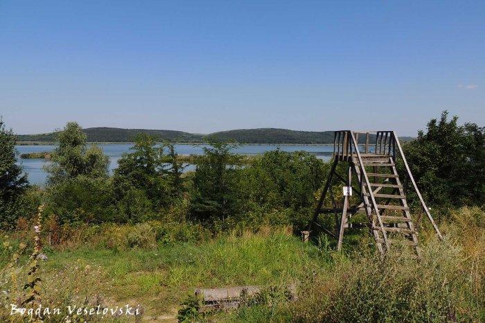 Observation tower in Srebarna Nature Reserve