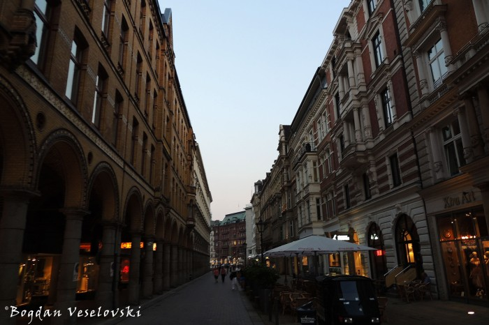 Colonnaden, Hamburg
