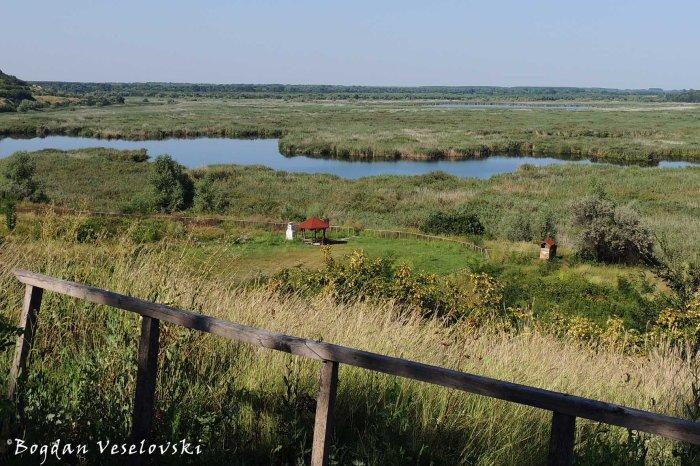 View towards the Srebarna reserve