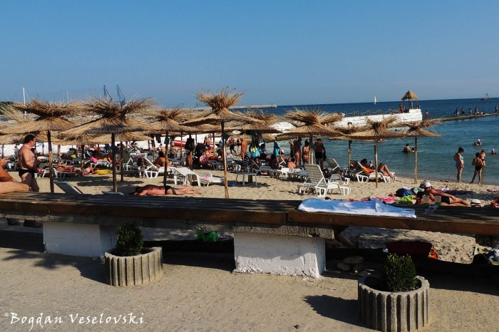 Beach in Balchik