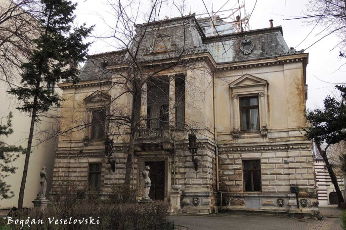 115, Calea Victoriei - Monteoru House (restored in 1887-1889 by arch. Ion Mincu, eclectic style)