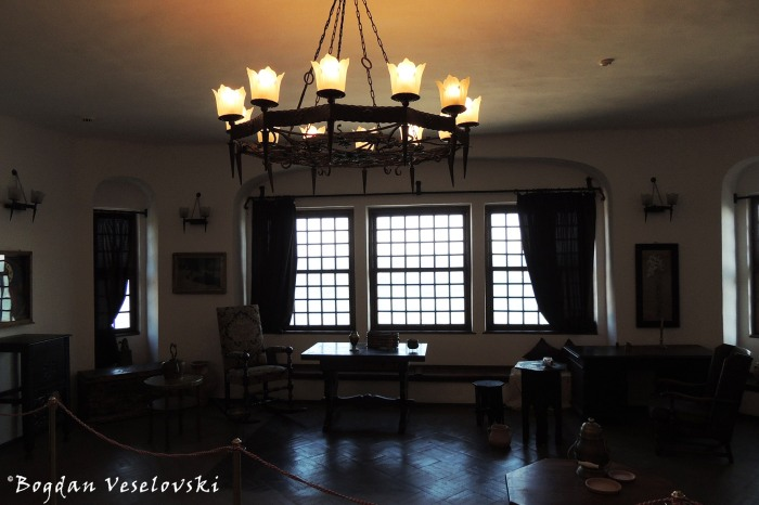 Interior of the Balchik Palace