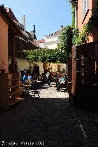 Street cafés in Tallinn