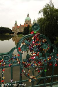 Love locks, Hannover