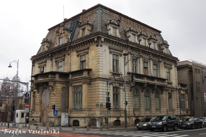 174, Calea Victoriei - Cesianu House (former German Legation ^ Constatntin Tanase Theatre ^ Vicctoria Casino, 19th century, academic eclectic style)