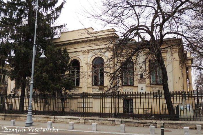 192, Calea Victoriei - Florescu-Manu House (1843, French neo-classical style)