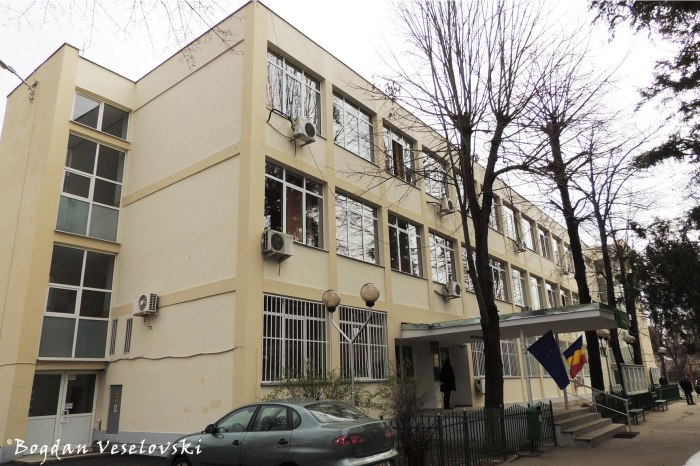 2, Jean Monnet Str. - 'Jean Monnet' Theoretical High School Bucharest
