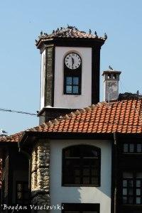 Clock tower in Nesebar