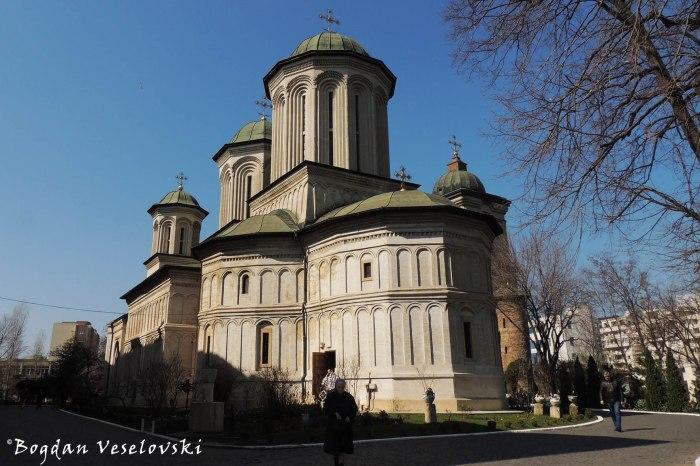 24A, Radu Vodă Str.: Mănăstirea Radu Vodă - Biserica 'Sfânta Troiță', sec. XVI (Radu Vodă Monastery - 'Holy Trinity' Church, 16th century)