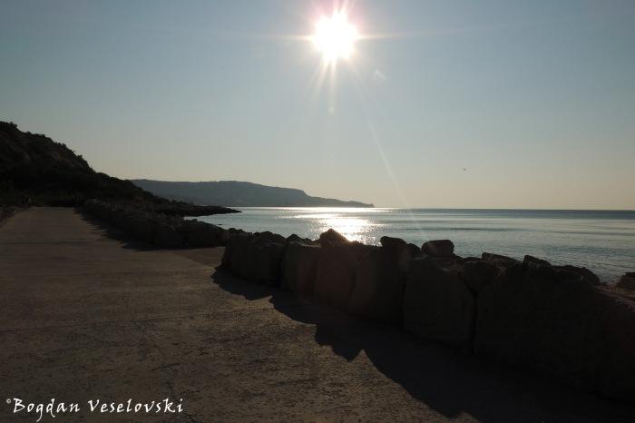 Balchik seafront