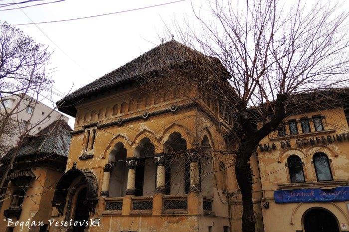 5-7, Biserica Amzei Str. - Ion I. C. Brătianu House (20th century, arch. Petre Antonescu, neo-Romanian style)