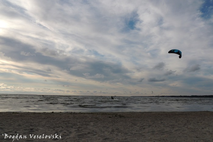 Kitesurfing in Tallinn