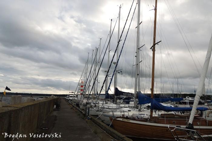 Yacht port, Tallinn