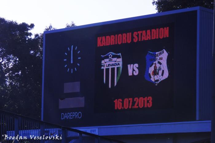 FC Levadia vs. Pandurii Targu Jiu