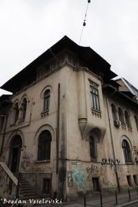 7, Biserica Amzei Str. - Biblioteca Uniunii Artiştilor Plastici Din România (Union of Artists' Library, Bucharest)