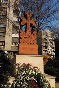 Armenian Church - Monument to Armenian heroes