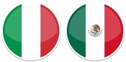 Lorenzo (Italy) & Melissa (Mexico)