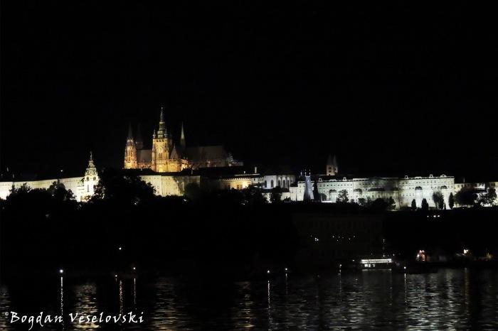 Prague Castle & Vltava