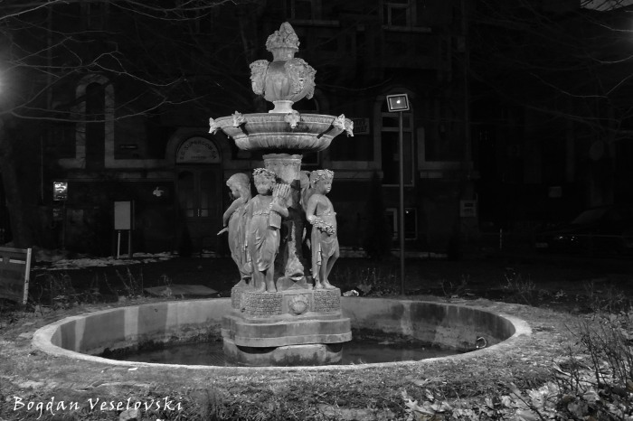 The Four Seasons Fountain on Carol I Blvd corner with Armand Calinescu Str., Bucharest
