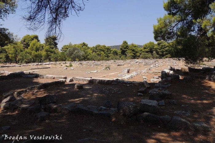 Ruins - Sanctuary of Asclepius at Epidaurus