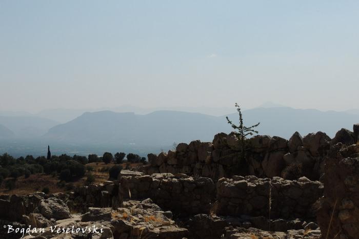 Mycenae citadel ruins