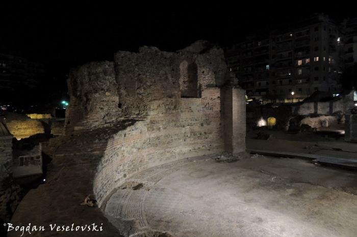 The Palace of Galerius in Navarinou Square, Thessaloniki