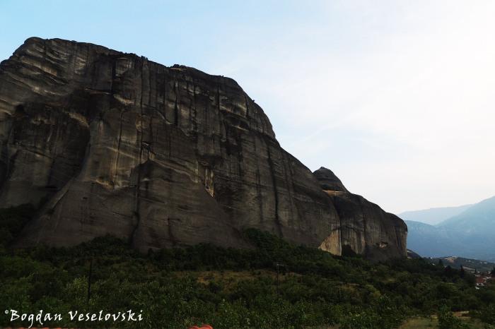 Άγιο Πνεύμα (Aghion Pnéwma - Holy Ghost cliff seen from West)