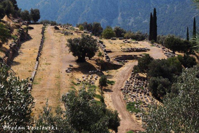 Site of Delphi