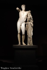 Archaeological Museum at Olympia - 'Hermes and the Infant Dionysos' by Praxitelis