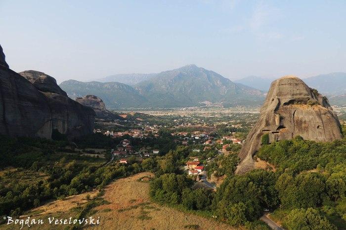 Kastraki seen from Meteora
