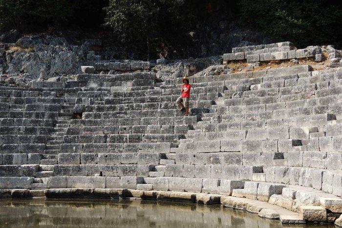 Roman Theater in Butrint