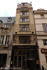 11, Smârdan Str. - House, 19th century, today Rembrandt Hotel