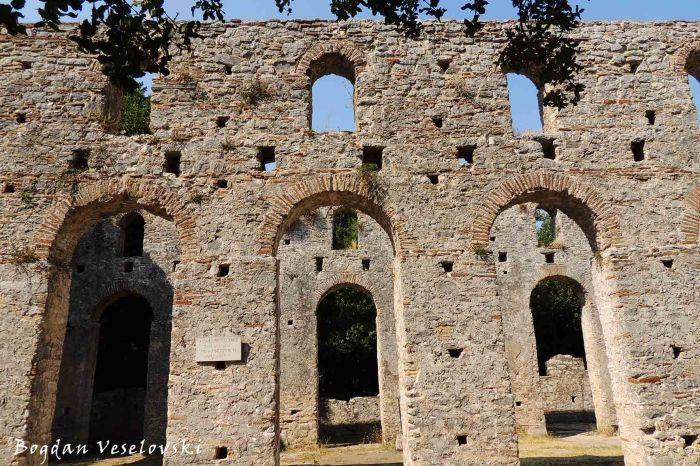 6th century Basilica in Butrint
