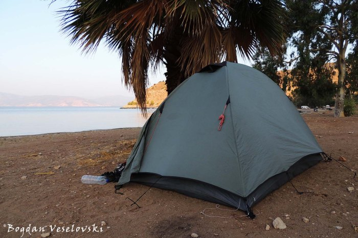 Wild camping ...