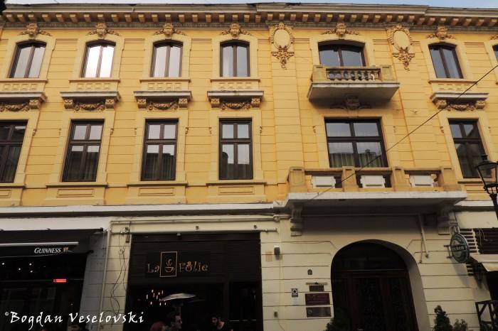 13, Franceză Str. - Stefan Petrovici Armis's Building (~1870)
