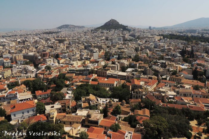 View from Acropolis, Athens