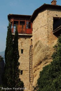 Ladder (The Holy Monastery of Roussanou - Saint Barbara, Meteora)