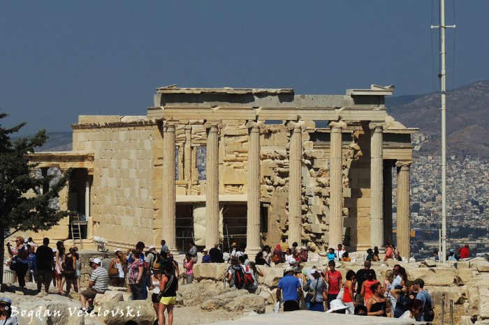 Acropolis of Athens - The Erechtheum (Ερέχθειο)