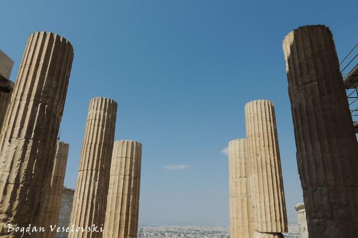 Acropolis of Athens - The Propylaea (Προπύλαια)
