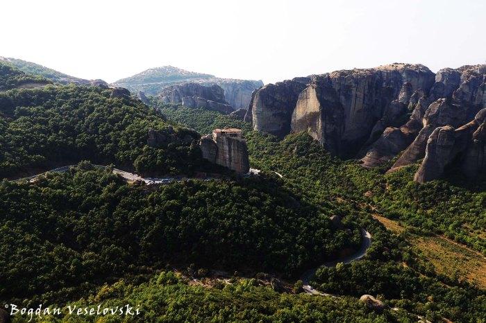 Meteora Valley - The Holy Monastery of Roussanou - Saint Barbara