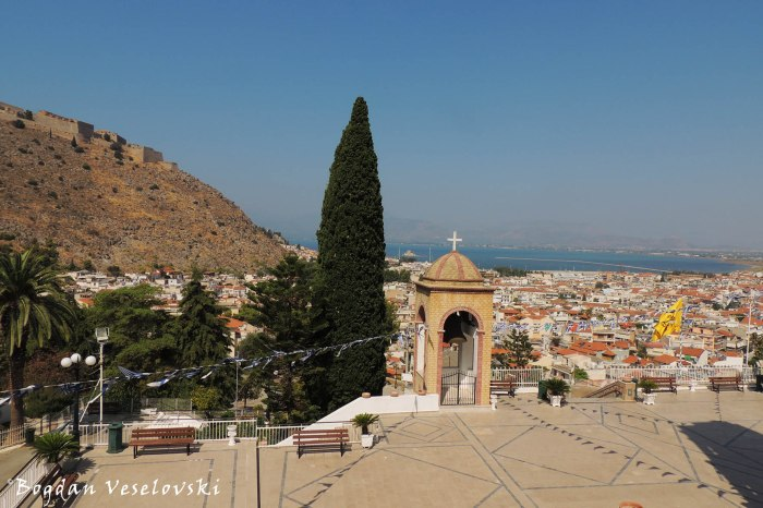 View from the Church of the Annunciation, Nafplio