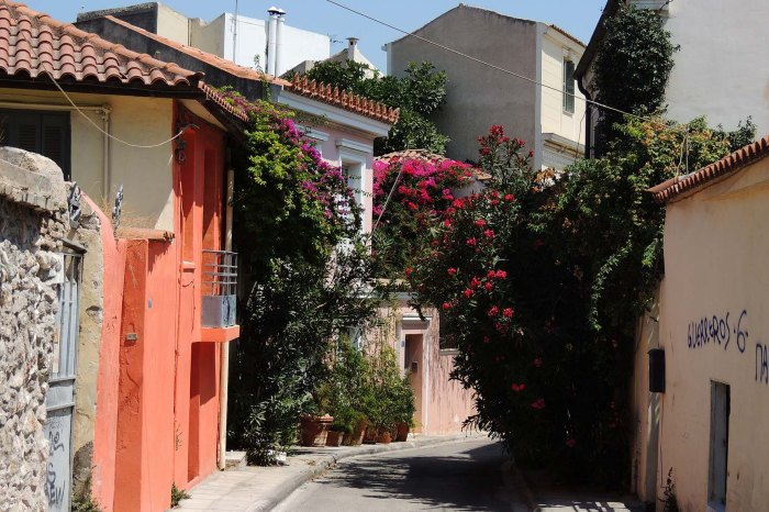 Street in Athens City Centre