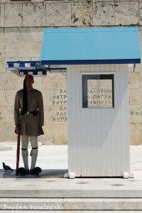 Προεδρική Φρουρά (Presidential Guard - Evzone guarding the Tomb of the Unknown Soldier in Athens)