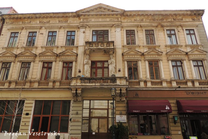 4, Franceză Str. - Merchant Tarpo House (1895, eclectic house, arch. Wilhelm Bast)