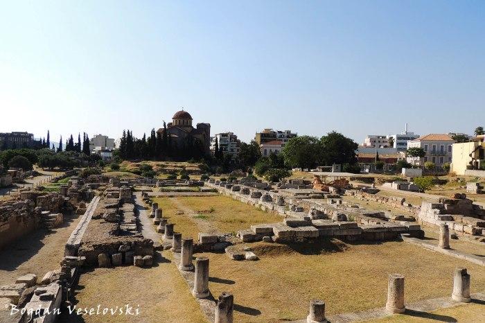 Holy church of Agia Triada (Holy Trinity) & Archaelogical site of Keramikos Cemetery, Athens