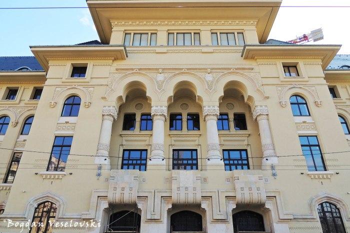 47, Elisabeta Blvd. - Palatul Ministerului Lucrărilor Publice, fosta Primărie a Bucureștiului (Palce of the Ministry of Public Works - former Bucharest City Hall, arch. Petre Antonescu)