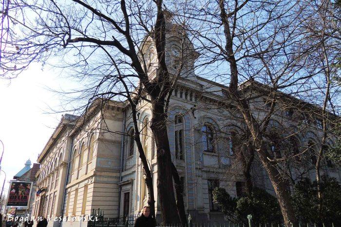 48, Elisabeta Blvd. - 'Gheorghe Lazar' National College Bucharest