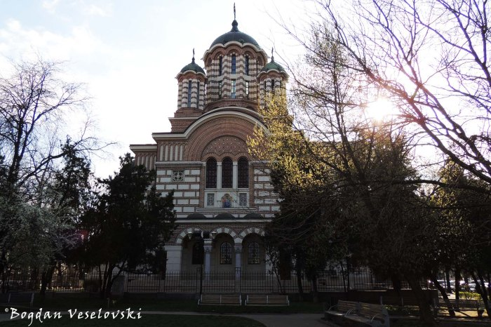 Biserica Sfântul Elefterie Nou (New St. Elefterie Church, Bucharest, arch. Constantin Iotzu)
