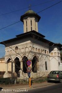 Biserica Sfântul Elefterie Vechi (Old St. Elefterie Church, Bucharest, 1743-1744)